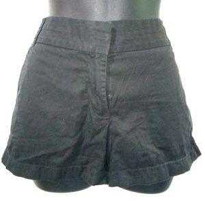 J crew Women's 6 Black Broken-In Chinos Shorts